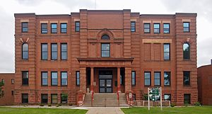 Cass County, Minnesota - Image: Cass County Courthouse MN