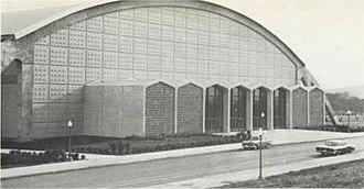 Cassell Coliseum - Cassell Coliseum in 1964