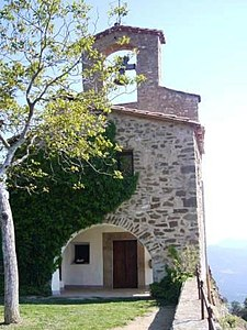 "Castle of Montagut - Church ""La Mare de Déu del Cós 02.jpg"