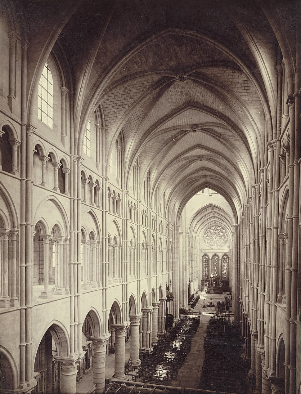 Cathedral of Laon, Nave (Interior) (3486789846)
