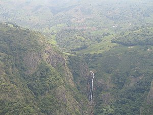 Catherine Falls - Image: Catherine Falls view from Dolphin's Nose