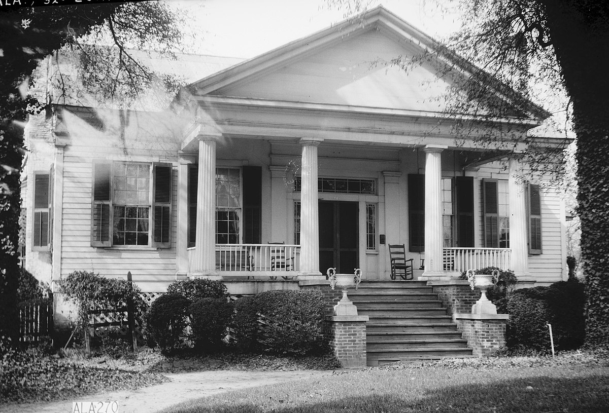 Catlin wilson house wikipedia for House plans with columns