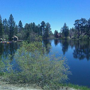 Cedar Lake (California) - Image: Cedarlake New Saw Mill