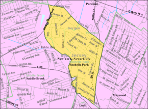 Census Bureau map of Rochelle Park, New Jersey.png