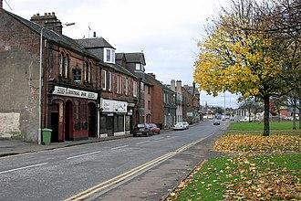 Renton, West Dunbartonshire - Image: Central Bar Renton geograph.org.uk 366692
