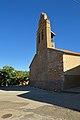 Cerecinos del Carrizal, Iglesia de San Salvador, espadaña, 02.jpg