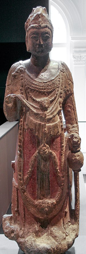 Sui dynasty - A Sui dynasty stone statue of the Avalokitesvara Boddhisattva (Guanyin)