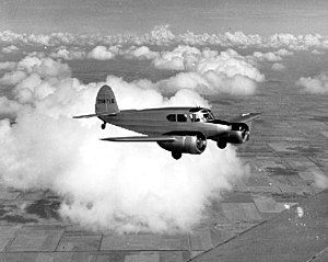 Early life and career of Gene Roddenberry - Roddenberry flew Cessna AT-17 Bobcats (pictured) while his deployment was delayed