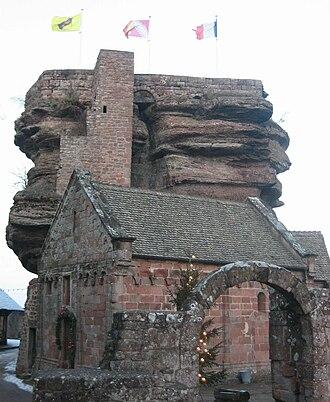 Château de Hohbarr - Rock of Hoch-Barr
