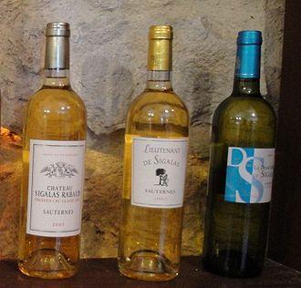 Château Sigalas-Rabaud - The range of wines produced by Château Sigalas-Rabaud