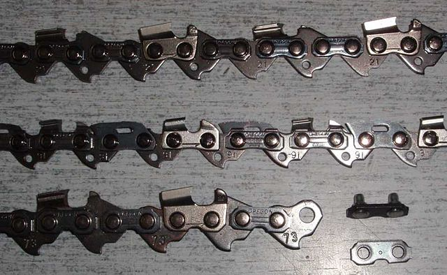 Chainsaw Chain Basics