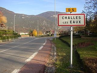 Challes-les-Eaux Commune in Auvergne-Rhône-Alpes, France