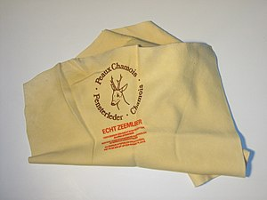 Chamois leather - Chamois leather cloth