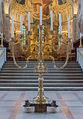 Chandelier sept branches Cathédrale Viborg Domkirke Denmark.jpg