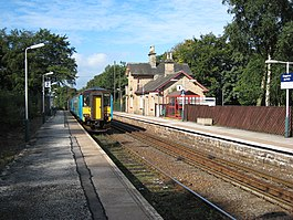 Chapel En Le Frith Railway Station Wikipedia The Free