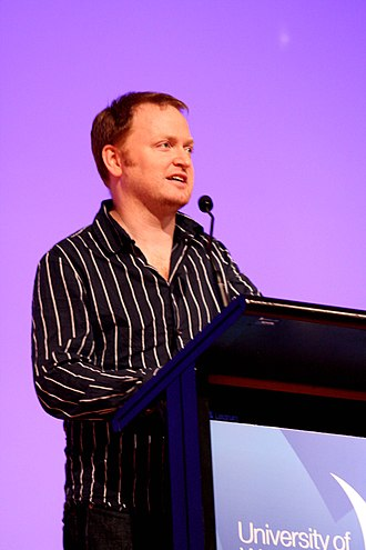 Charles Firth (comedian) - At the 2009 Australian Power Shift Conference