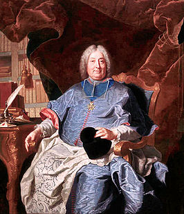 Charles Gaspard Guillaume de Vintimille du Luc door Hyacinthe Rigaud.
