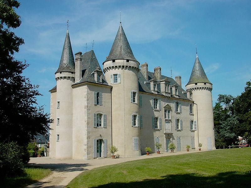 photo du château de nexon