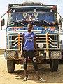 Chauffeur de camion poid-lourd, Touba, Sénégal.jpg