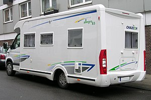 Chausson (recreational vehicle) - Image: Chausson Allegro 83 Renault hl