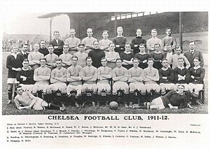 History of Chelsea F.C. - Chelsea's complete roster for the 1911–12 season