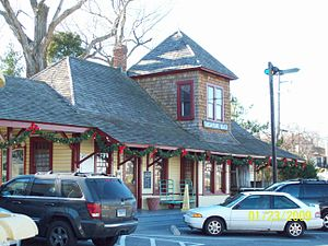 National Register of Historic Places listings in Calvert County, Maryland - Image: Chesapeake Beach Station Dec 08