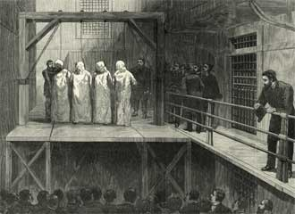 Haymarket affair - Execution of defendants—Engel, Fischer, Parsons, and Spies
