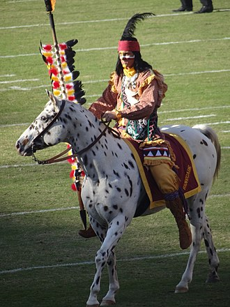 Osceola and Renegade - Osceola and Renegade at the 2011 game against the University of Miami in Tallahassee, FL