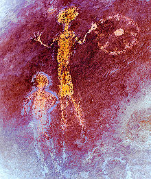 Rock Art Of The Chumash People Wikipedia