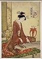 Chobunsai eishi, serie delle sei arti in veste elegante, koto, 1793-96 ca.jpg