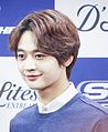Choi Min Ho at a fansign of Skechers on February 2014 02.jpg
