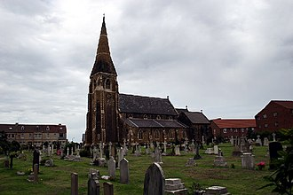 Coatham - Image: Christ Church, Redcar
