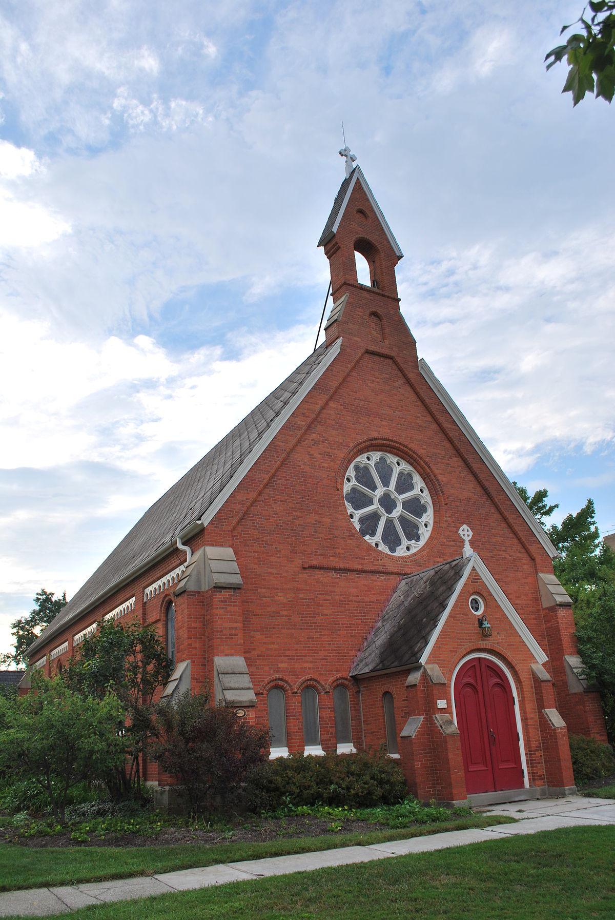 christ episcopal church  oberlin  ohio