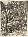 Christ Nailed to the Cross, from The Small Passion MET DP816053.jpg