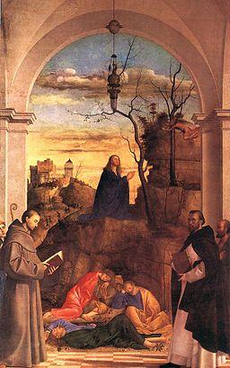Christ Praying in the Garden