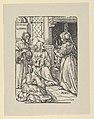 Christ in the House of Lazarus, Martha and Mary, from Holzschnitte alter Meister gedruckt von den Originalstöcken der Sammlung Derschau im besitz des Staatlichen Kupferstich-kabinetts zu Berlin MET DP837367.jpg