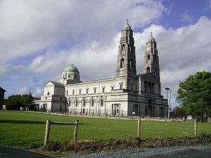 Cathedral of Christ the King, Mullingar - Image: Christ le Roi Mullingar