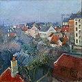 Christian Krohg - View over Frederiksberg, Copenhagen - Fra Frederiksberg, København - Nasjonalmuseet - NG.M.00806.jpg