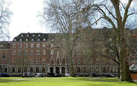 Church House in London where the first Security Council Meeting took place on 17 January 1946 Church House Westminister London 2016 (02).JPG