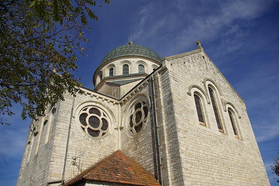 Church Saint Martin of Castelnau-Montratier (Lot, France).