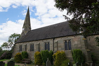George Gilbert Scott - Parish Church of St John in Wall, Staffordshire