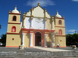 Boaco: Image:Church in Boaco
