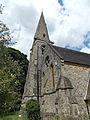 Church of the Holy Innocents, High Beach, Essex, England - nave and tower from southwest.jpg