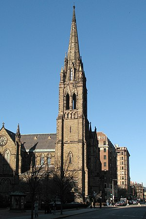 Church of the Covenant (Boston) - Image: Church of the covenant