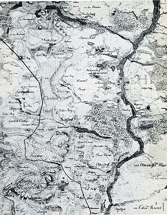 Hermannsburg - Hermannsburg and environs in the 18th century