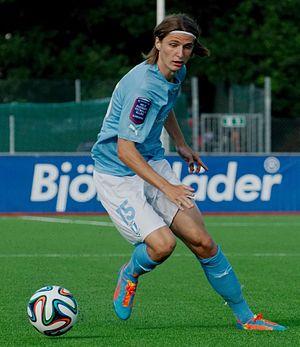 Paweł Cibicki - Image: Cibicki Pawel IF Brommapojkarna Malmö FF 2014 07 06 18 49 12 (7002)