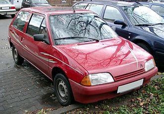 Citroën AX - Image: Citroen AX front 20071126