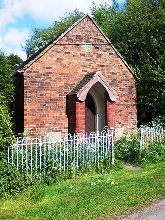 Coton Clanford - Clanford Methodist Chapel, May 2008