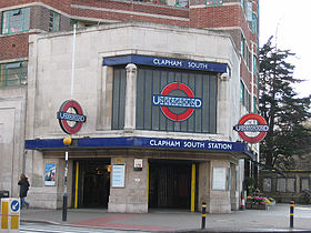 Image illustrative de l'article Clapham South (métro de Londres)