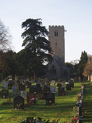 Church of St Thomas of Canterbury, Clapham, Bedfordshire - St Thomas' in 2005
